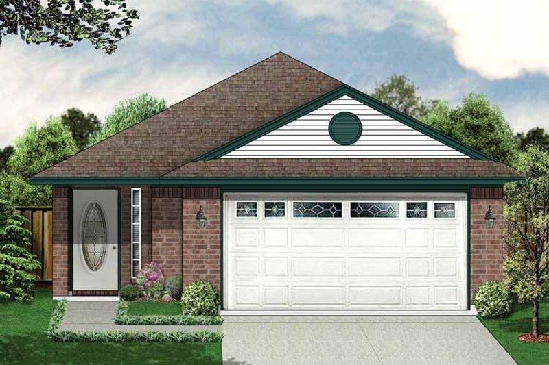 House Plan Design - Ranch Exterior - Front Elevation Plan #84-665