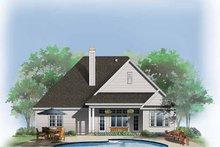 Ranch Exterior - Rear Elevation Plan #929-763