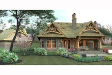 House Plan Design - Craftsman Exterior - Other Elevation Plan #120-174