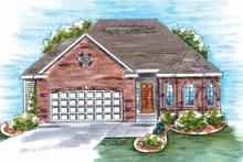 Dream House Plan - European Exterior - Front Elevation Plan #20-1602