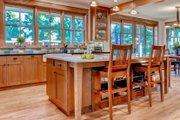 Prairie Style House Plan - 3 Beds 3 Baths 3219 Sq/Ft Plan #1042-18 Interior - Kitchen