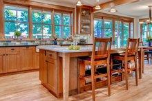 Architectural House Design - Prairie Interior - Kitchen Plan #1042-18