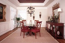Architectural House Design - Traditional Interior - Dining Room Plan #929-177