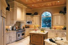 House Plan Design - Mediterranean Interior - Kitchen Plan #930-314