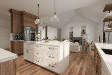 Farmhouse Interior - Kitchen Plan #23-2723