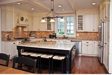 Architectural House Design - Colonial Interior - Kitchen Plan #928-220
