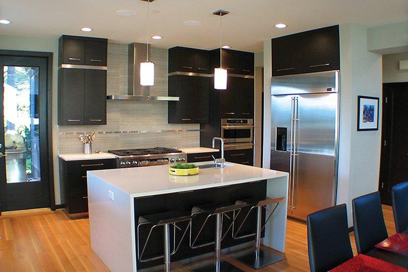 Contemporary Interior - Kitchen Plan #132-563 - Houseplans.com