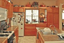 Architectural House Design - Country Interior - Kitchen Plan #314-220