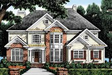 House Plan Design - Colonial Exterior - Front Elevation Plan #927-875