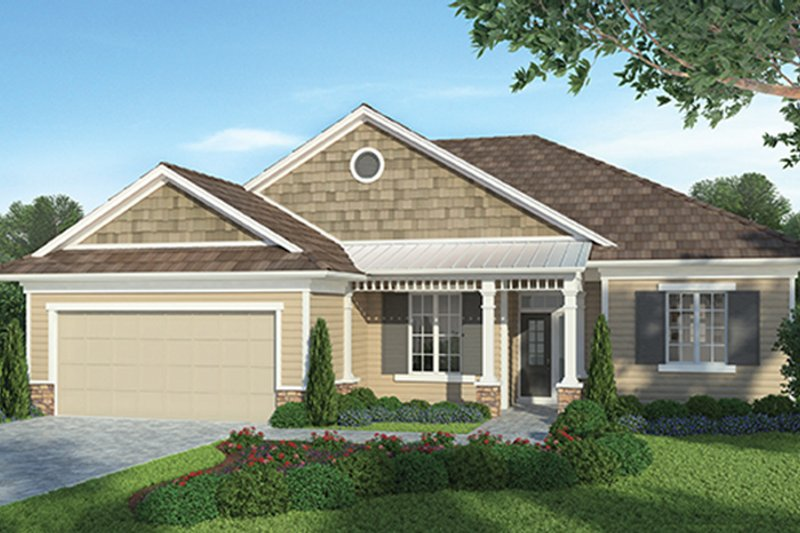 Country Exterior - Front Elevation Plan #938-31 - Houseplans.com
