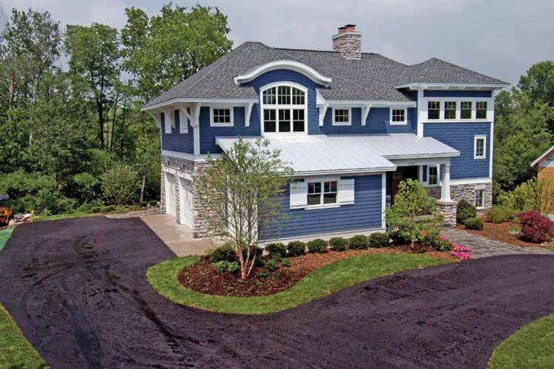 Craftsman Exterior - Front Elevation Plan #928-18 - Houseplans.com