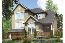 Dream House Plan - Craftsman Exterior - Front Elevation Plan #48-399