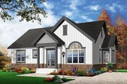 Traditional Style House Plan - 2 Beds 1 Baths 1068 Sq/Ft Plan #23-2202