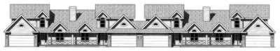 Ranch Exterior - Front Elevation Plan #20-1561 - Houseplans.com