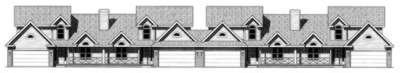 Ranch Exterior - Front Elevation Plan #20-1561