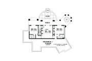 Craftsman Style House Plan - 3 Beds 3.5 Baths 3022 Sq/Ft Plan #929-26 Floor Plan - Lower Floor Plan
