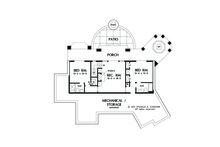 Craftsman Floor Plan - Lower Floor Plan Plan #929-26