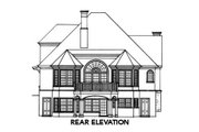 Cottage Style House Plan - 3 Beds 2.5 Baths 2424 Sq/Ft Plan #429-11 Exterior - Rear Elevation