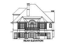 Cottage Exterior - Rear Elevation Plan #429-11