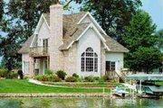 Cottage Style House Plan - 3 Beds 2 Baths 1805 Sq/Ft Plan #72-316 Exterior - Front Elevation