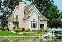Cottage Exterior - Front Elevation Plan #72-316