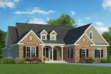 Traditional Exterior - Front Elevation Plan #929-983