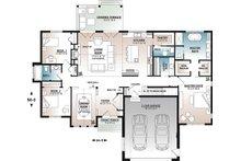 Farmhouse Floor Plan - Main Floor Plan Plan #23-2723