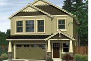 Craftsman Style House Plan - 3 Beds 2.5 Baths 1579 Sq/Ft Plan #943-13 Exterior - Front Elevation