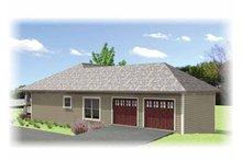 Craftsman Floor Plan - Other Floor Plan Plan #44-218