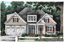 House Design - Craftsman Exterior - Front Elevation Plan #927-906