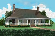 Country Style House Plan - 3 Beds 2.5 Baths 2207 Sq/Ft Plan #81-101