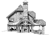 House Plan Design - Craftsman Exterior - Other Elevation Plan #942-26