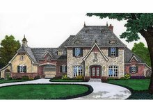 House Design - Classical Exterior - Front Elevation Plan #310-1207