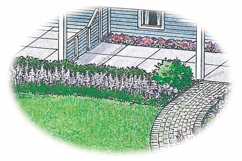 Exterior - Front Elevation Plan #1040-94 - Houseplans.com