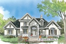 House Plan Design - European Exterior - Front Elevation Plan #929-570