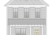 Craftsman Style House Plan - 3 Beds 2.5 Baths 1360 Sq/Ft Plan #461-38 Exterior - Other Elevation