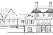 Country Exterior - Rear Elevation Plan #928-294
