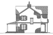 Traditional Style House Plan - 3 Beds 2.5 Baths 2250 Sq/Ft Plan #1042-10 Exterior - Other Elevation