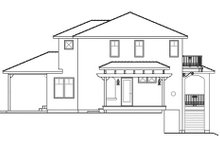 Architectural House Design - Mediterranean Exterior - Other Elevation Plan #124-863