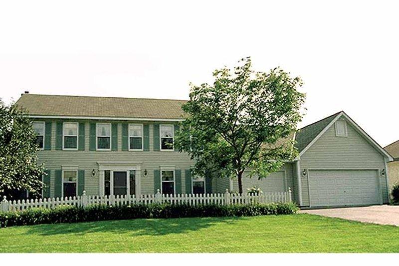 Colonial Exterior - Front Elevation Plan #51-736 - Houseplans.com