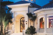 Home Plan - Mediterranean Exterior - Front Elevation Plan #930-256