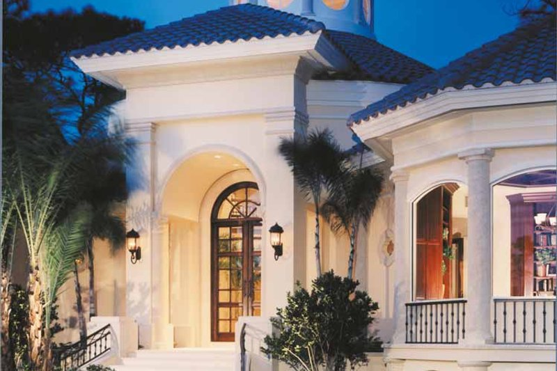 Mediterranean Exterior - Front Elevation Plan #930-256 - Houseplans.com