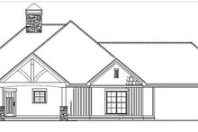 Architectural House Design - Country Exterior - Front Elevation Plan #17-3375