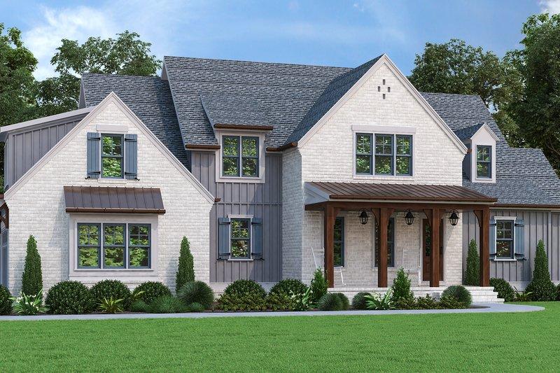 Farmhouse Style House Plan - 4 Beds 3 Baths 2767 Sq/Ft Plan #927-1013