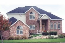 Home Plan - Traditional Exterior - Front Elevation Plan #945-55