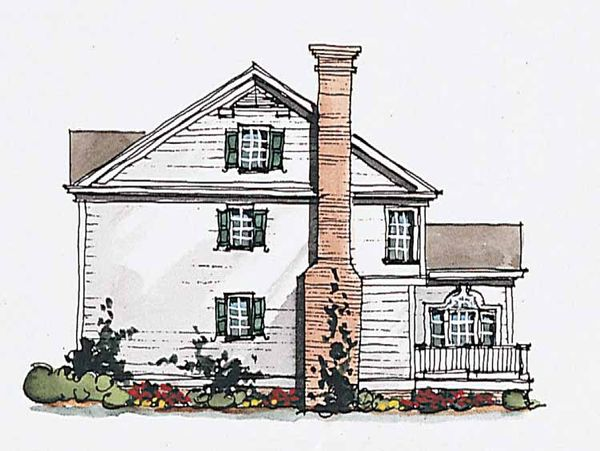 Classical Floor Plan - Other Floor Plan Plan #429-184