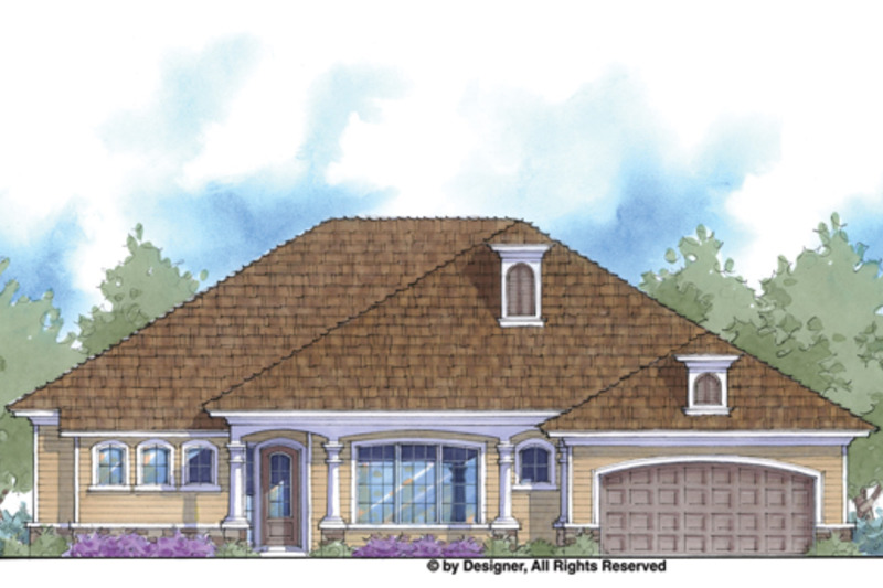 Country Exterior - Front Elevation Plan #938-69 - Houseplans.com
