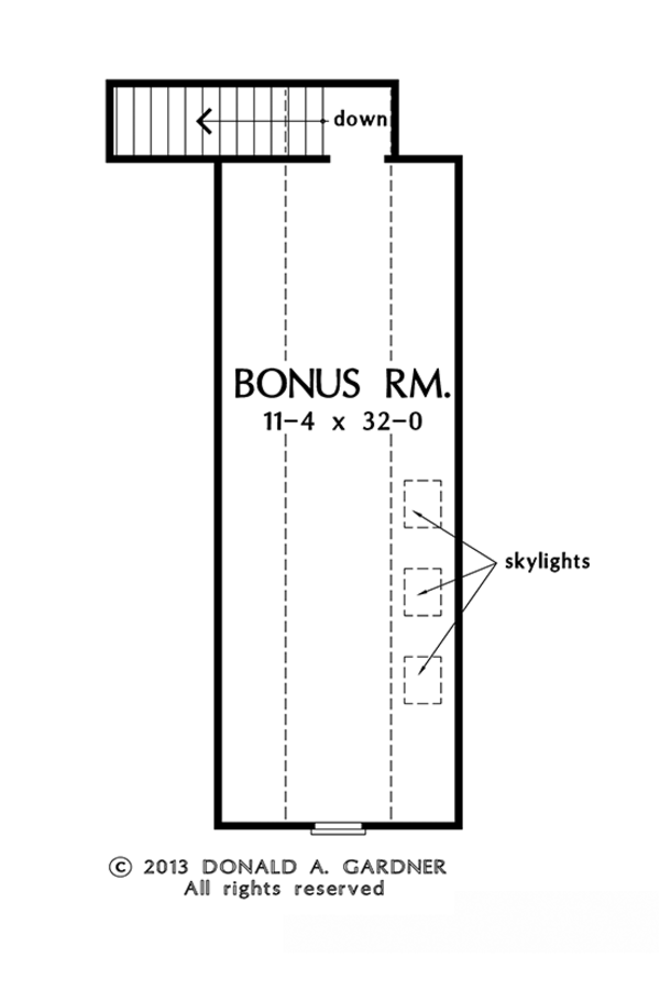 Home Plan - Traditional Floor Plan - Other Floor Plan #929-979