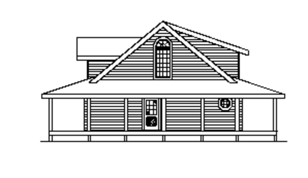 Log Floor Plan - Other Floor Plan Plan #17-3113