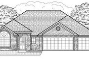 Traditional Style House Plan - 3 Beds 2 Baths 1895 Sq/Ft Plan #65-404 Exterior - Front Elevation